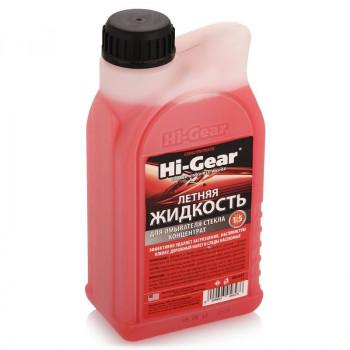 Концентрат летней жидкости для стеклоомывателя автомобиля Hi Gear (1 литр)